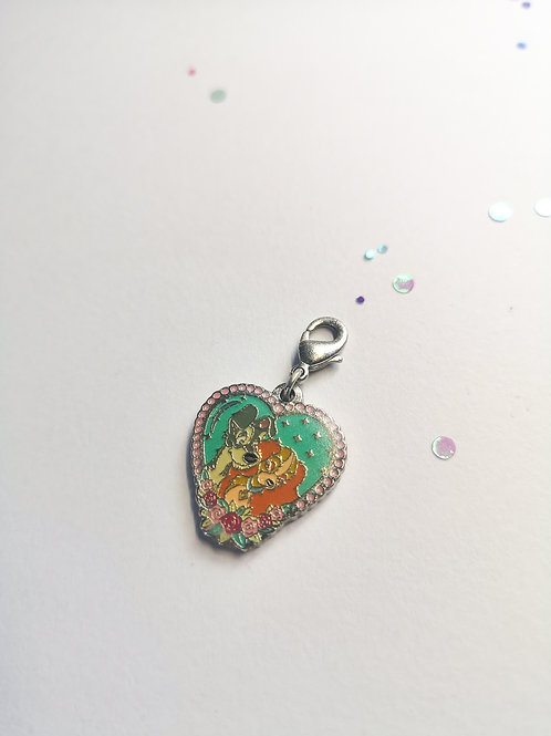 Lady and the Tramp Charm