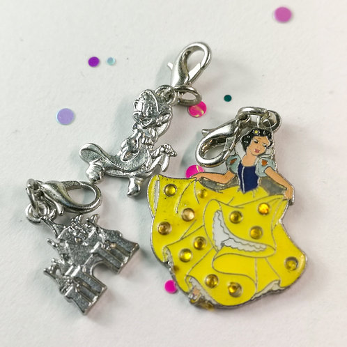 Snow white Charm set