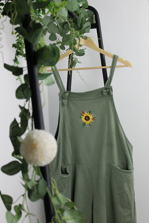 Sunflower Dungarees RTS