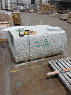 4 Tonne Blocks Ready for Manufacture