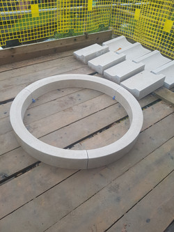 Circular Limestone Window Surround