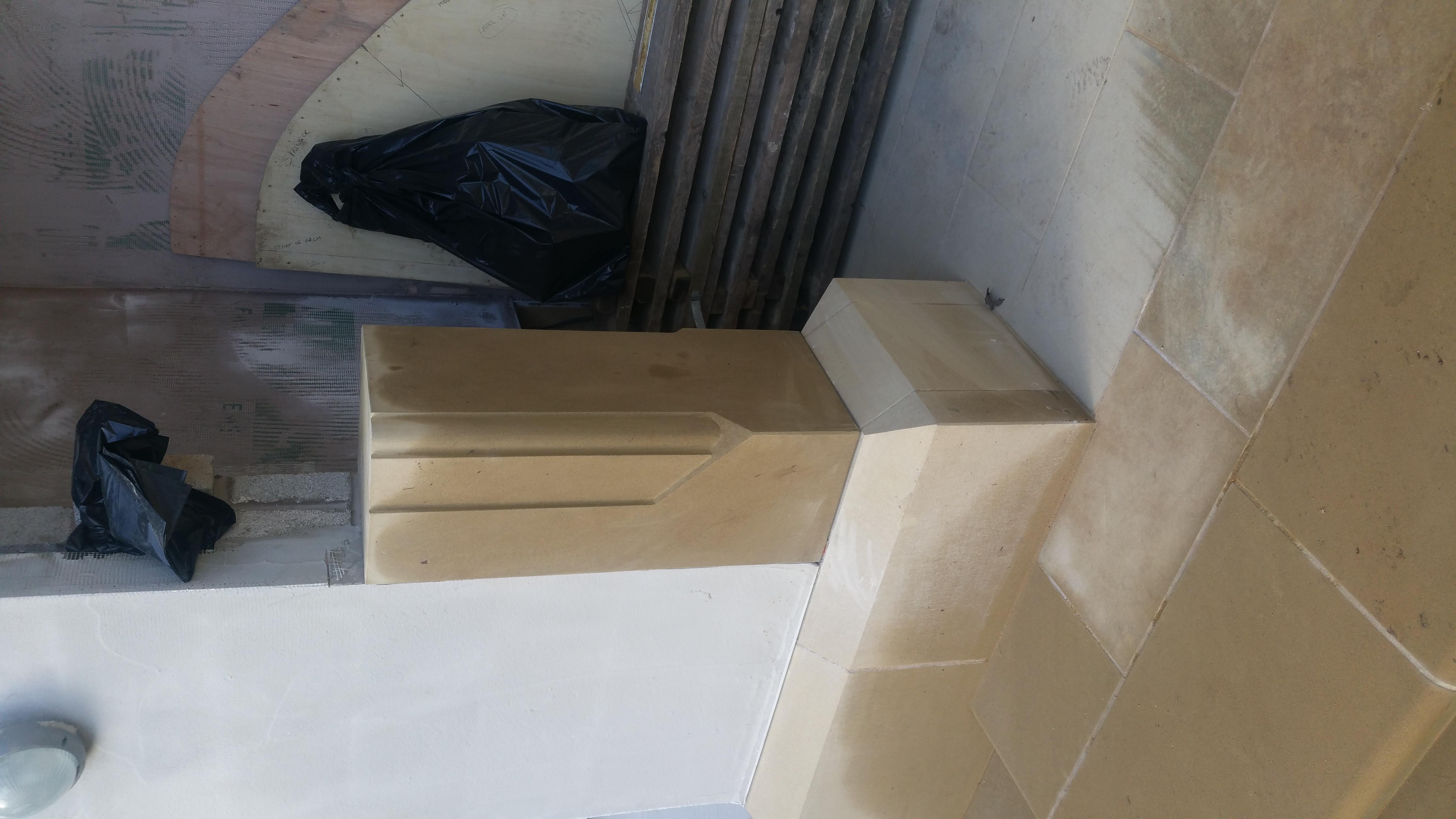 Yorkstone Arch Jamb