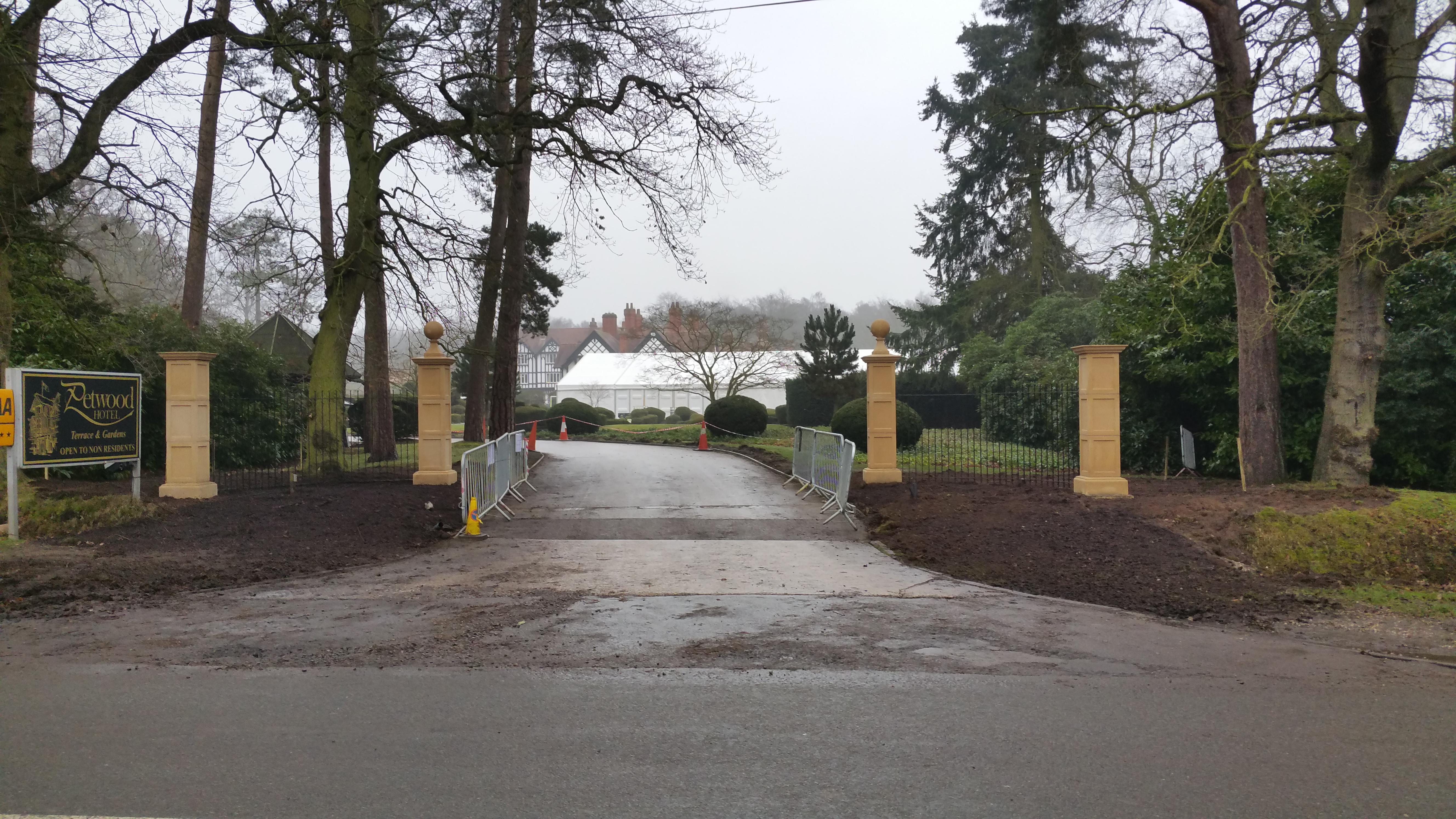 Petwood Hotel Entrance