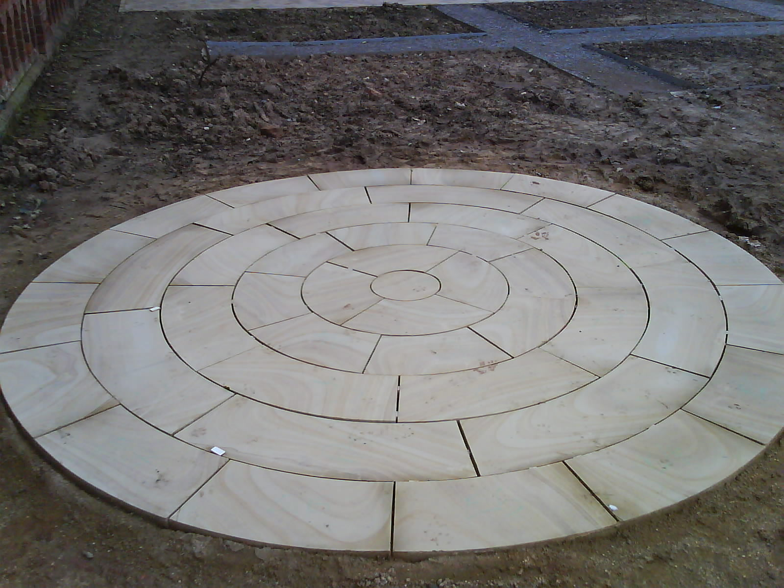 Paving Before Soft Landscaping