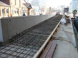 Reinforced Steel Ready for Concrete