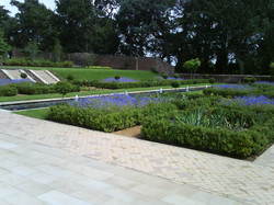 Yorkstone Paving & Sett Edging Path