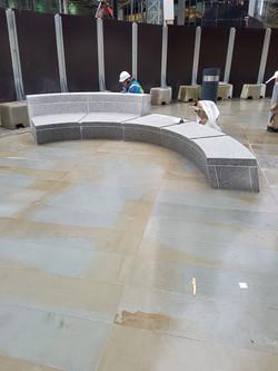 Fitting of Granite Bench