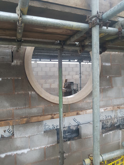 Fitting the Circular Windows