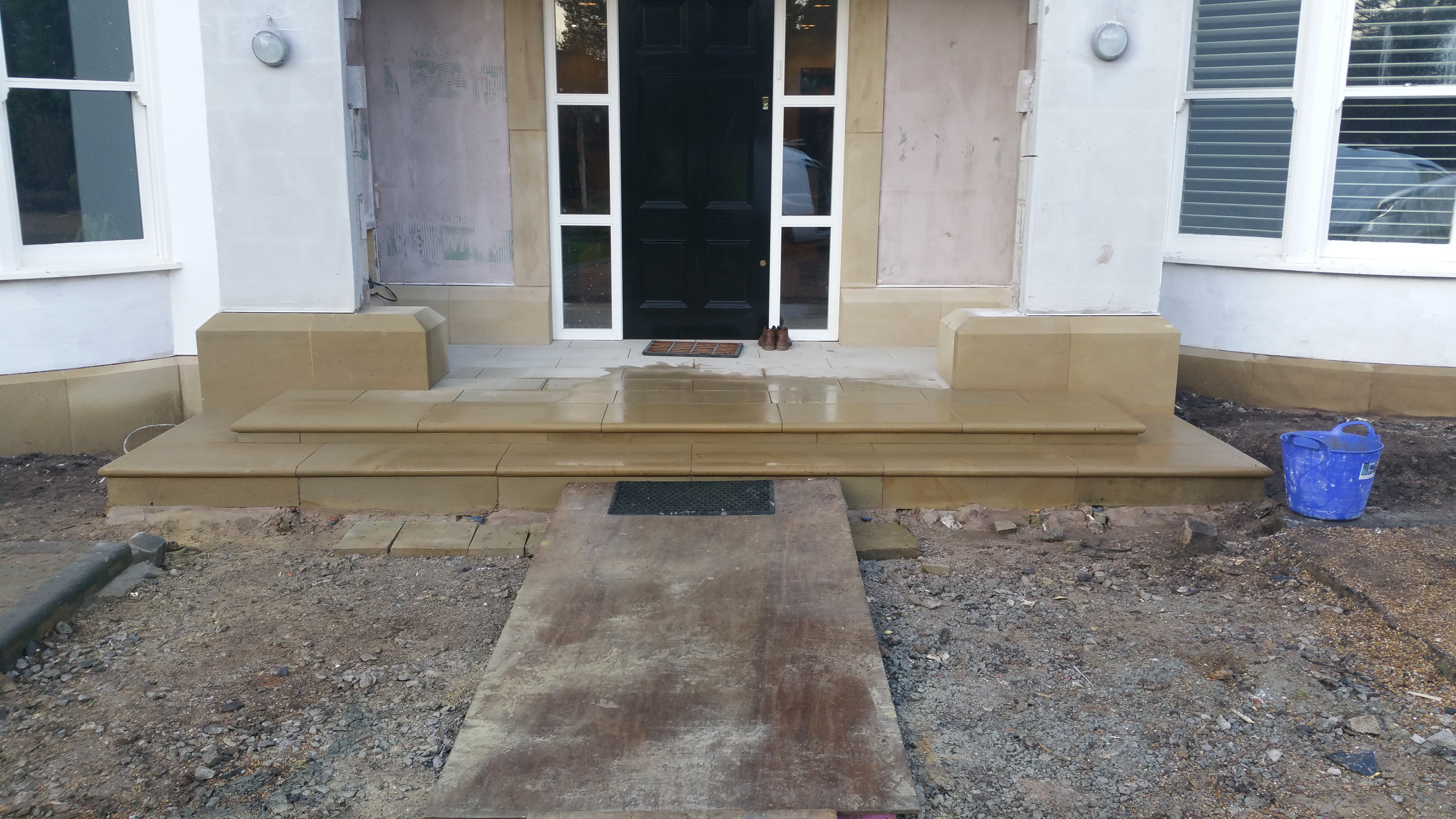 Yorkstone Paving and Steps