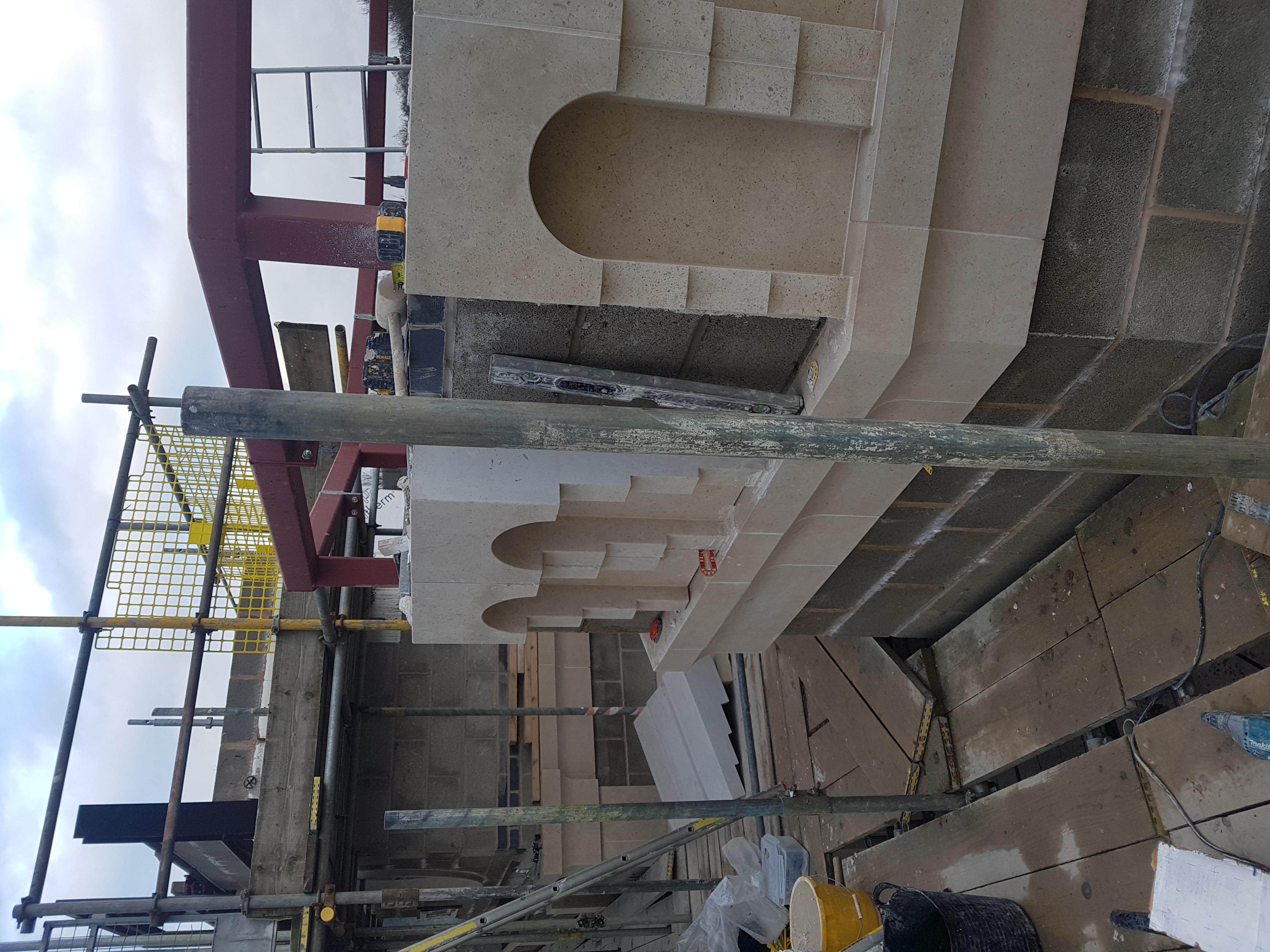 Tower Cornice Work