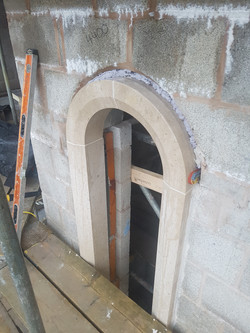 Fitting the Window Arches
