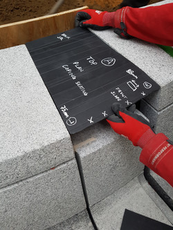 Template of Missing Stones on Site