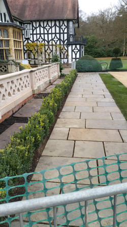 Self Faced Yorkstone Paving