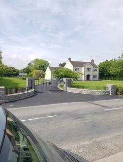 Entrance Walling & Gateposts