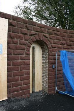 Arch in Sandstone Walling