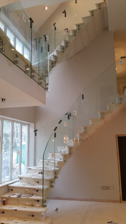 Floating Limestone Staircases