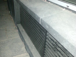 Basalt Plinth and Coping