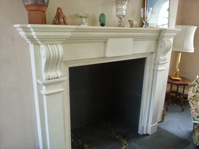 Hand Carved Bespoke Fireplace
