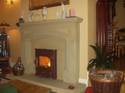 Bespoke Carved Fireplace
