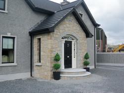 Brown Granite Walling Stone