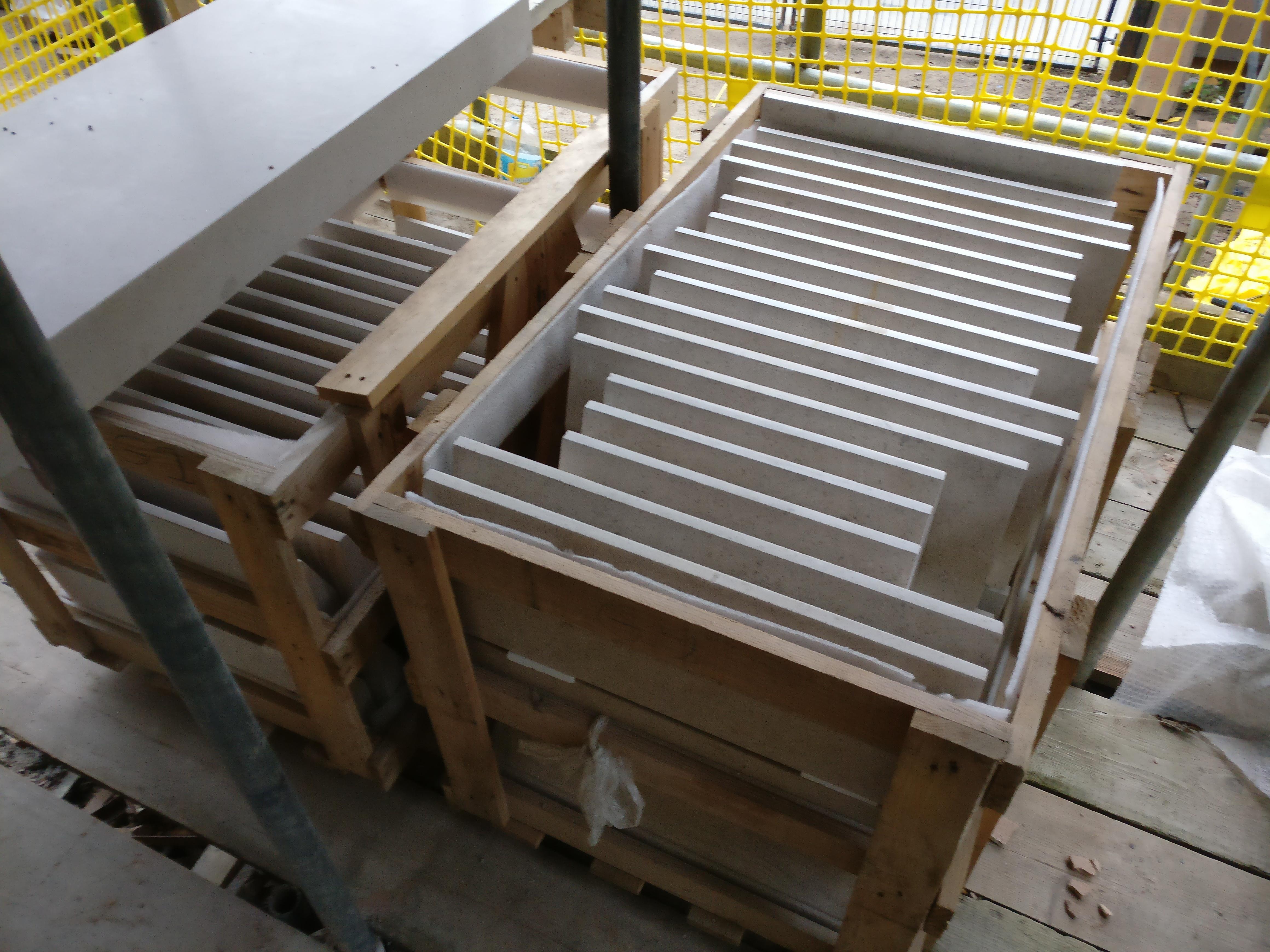 Crate of Dado Stringer Stones