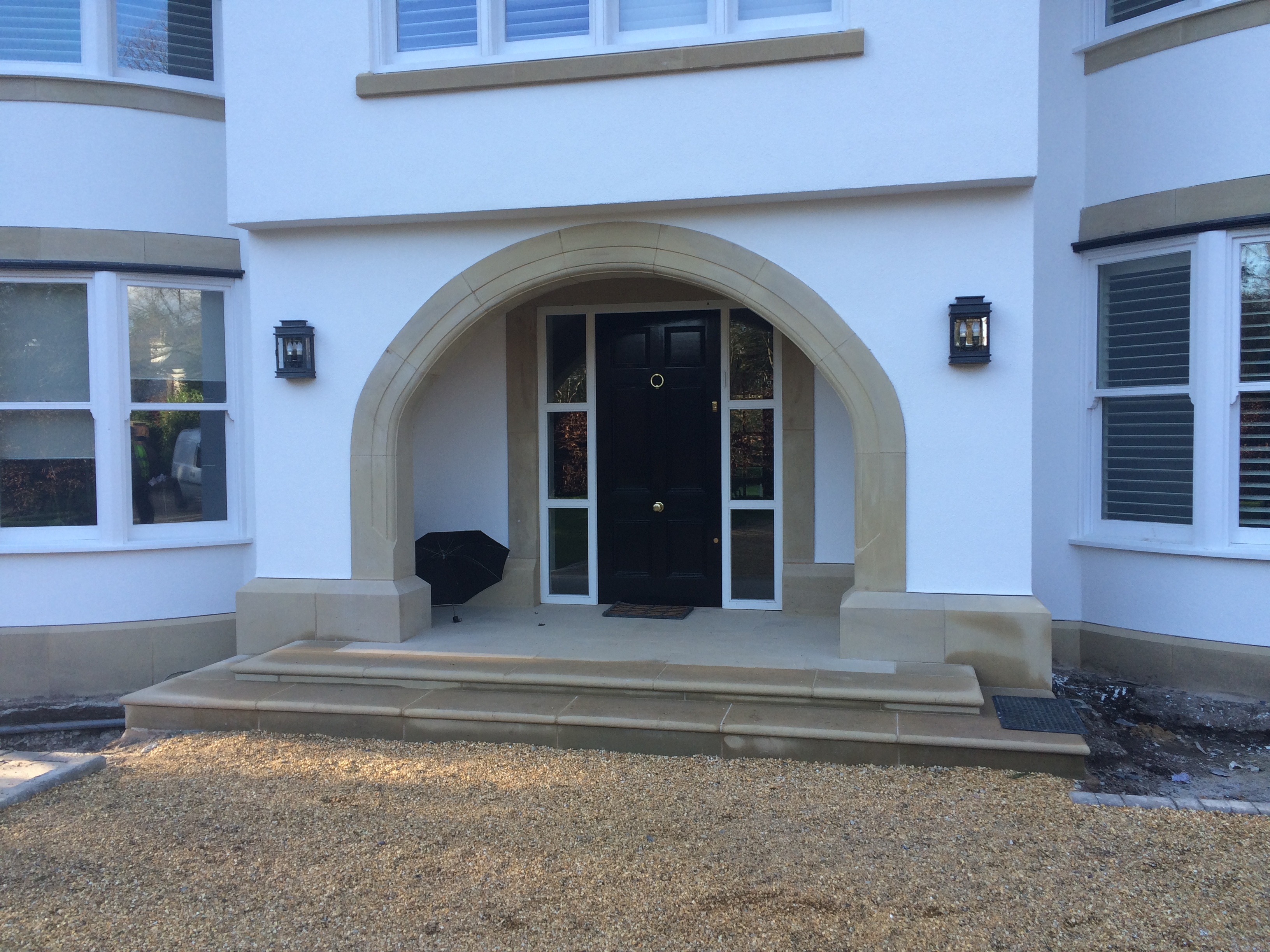 Yorkstone Arch & Door Surround