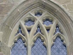 Decorative Window Tracery & Mullion
