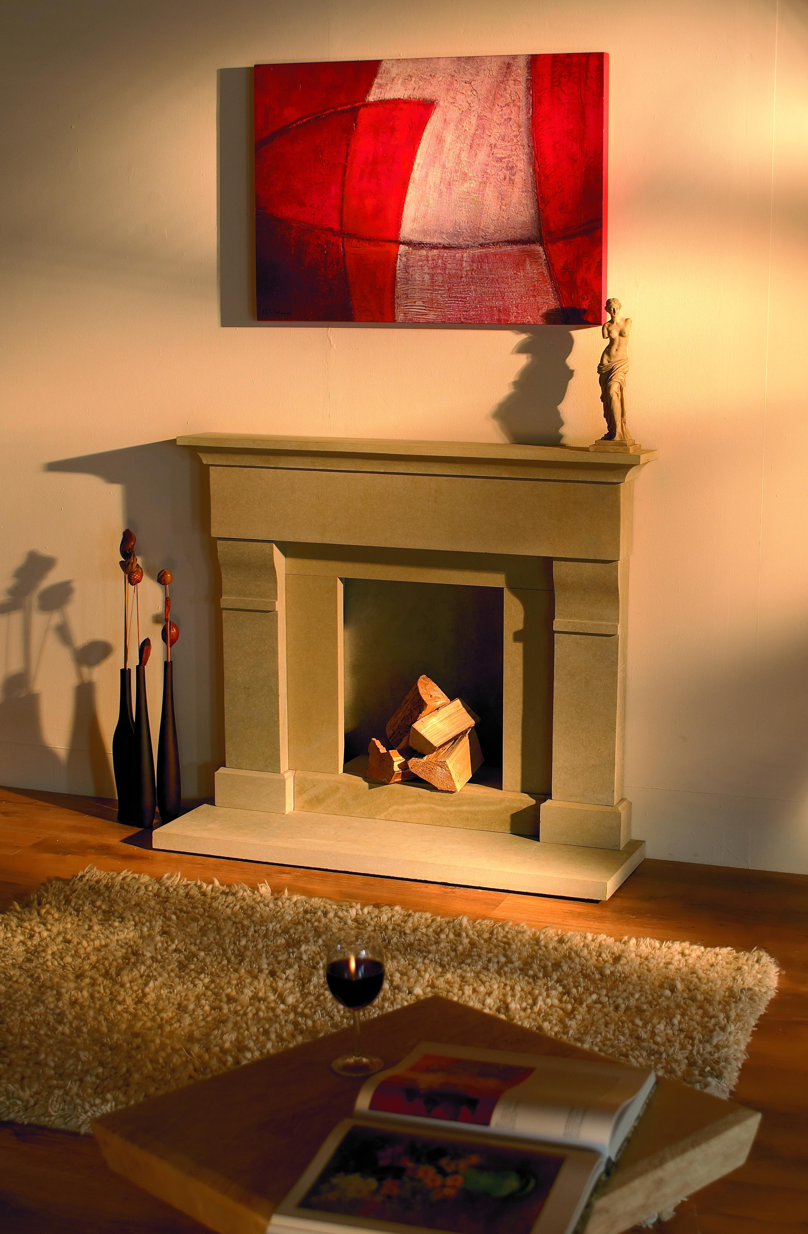 Roma Fireplace