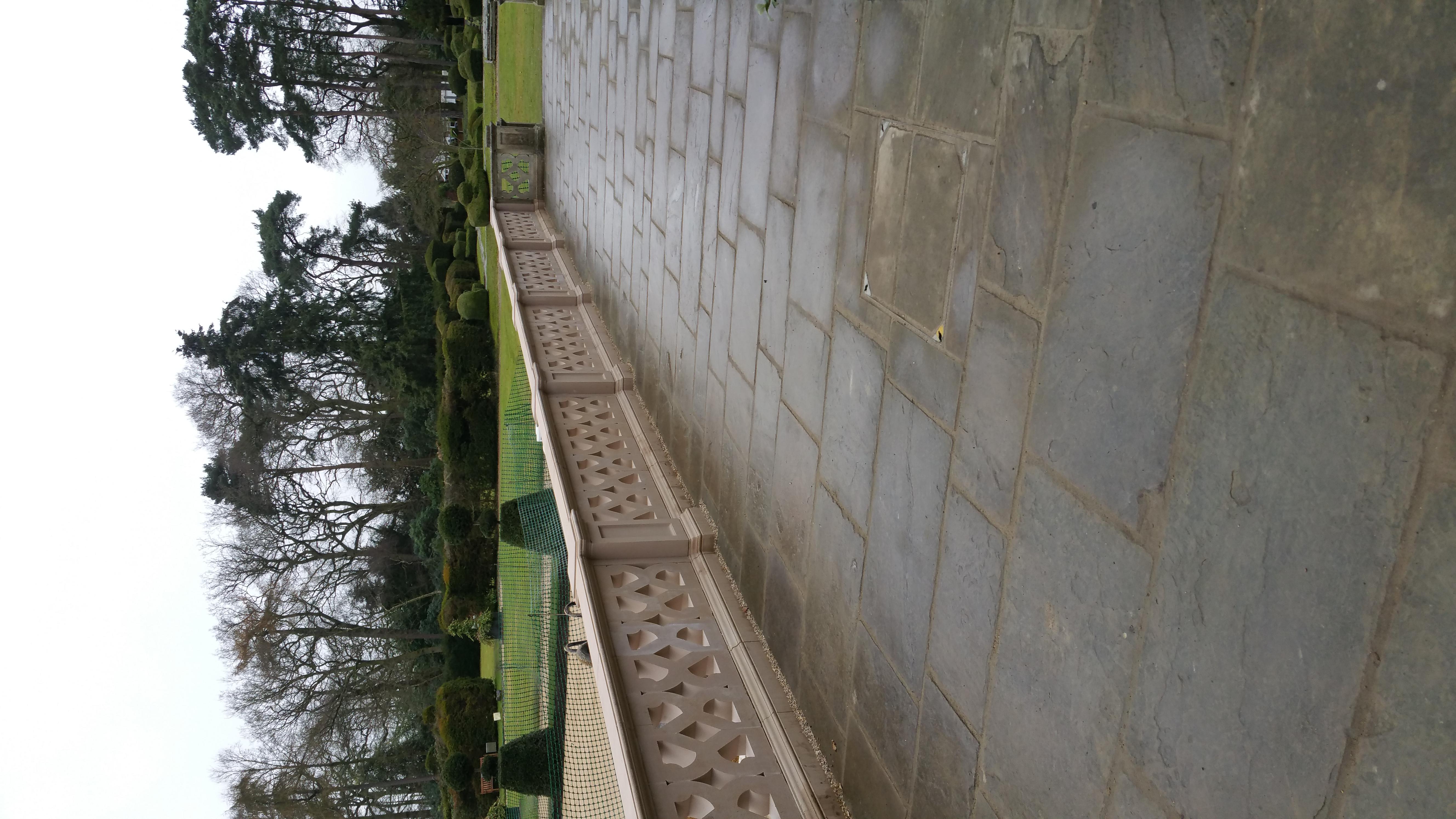 Jacobean Balustrade Walkway