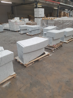 Planter Stones to Be Modified