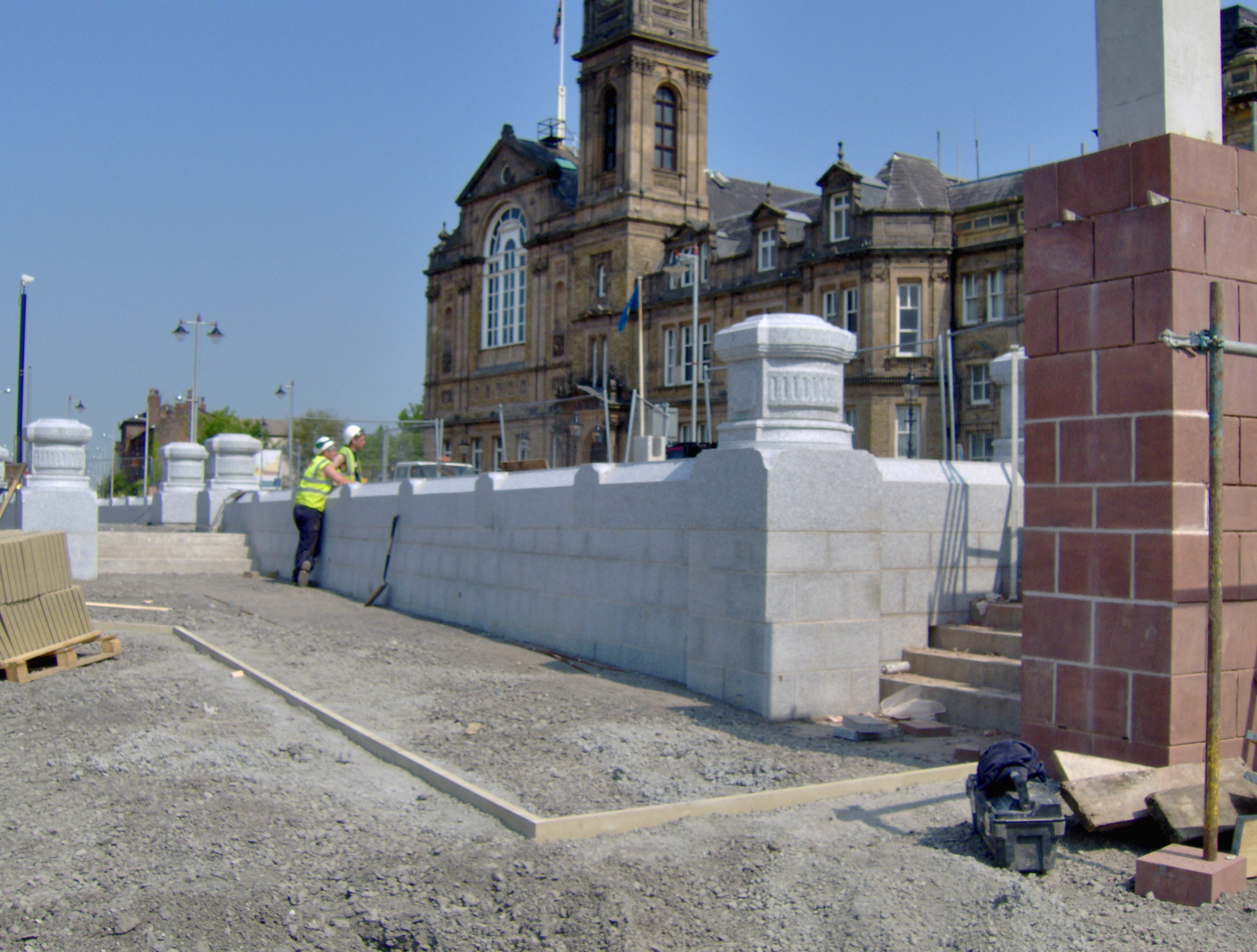 Bootle Town Hall Carriageway Works