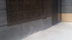 Basalt Plinth Course.