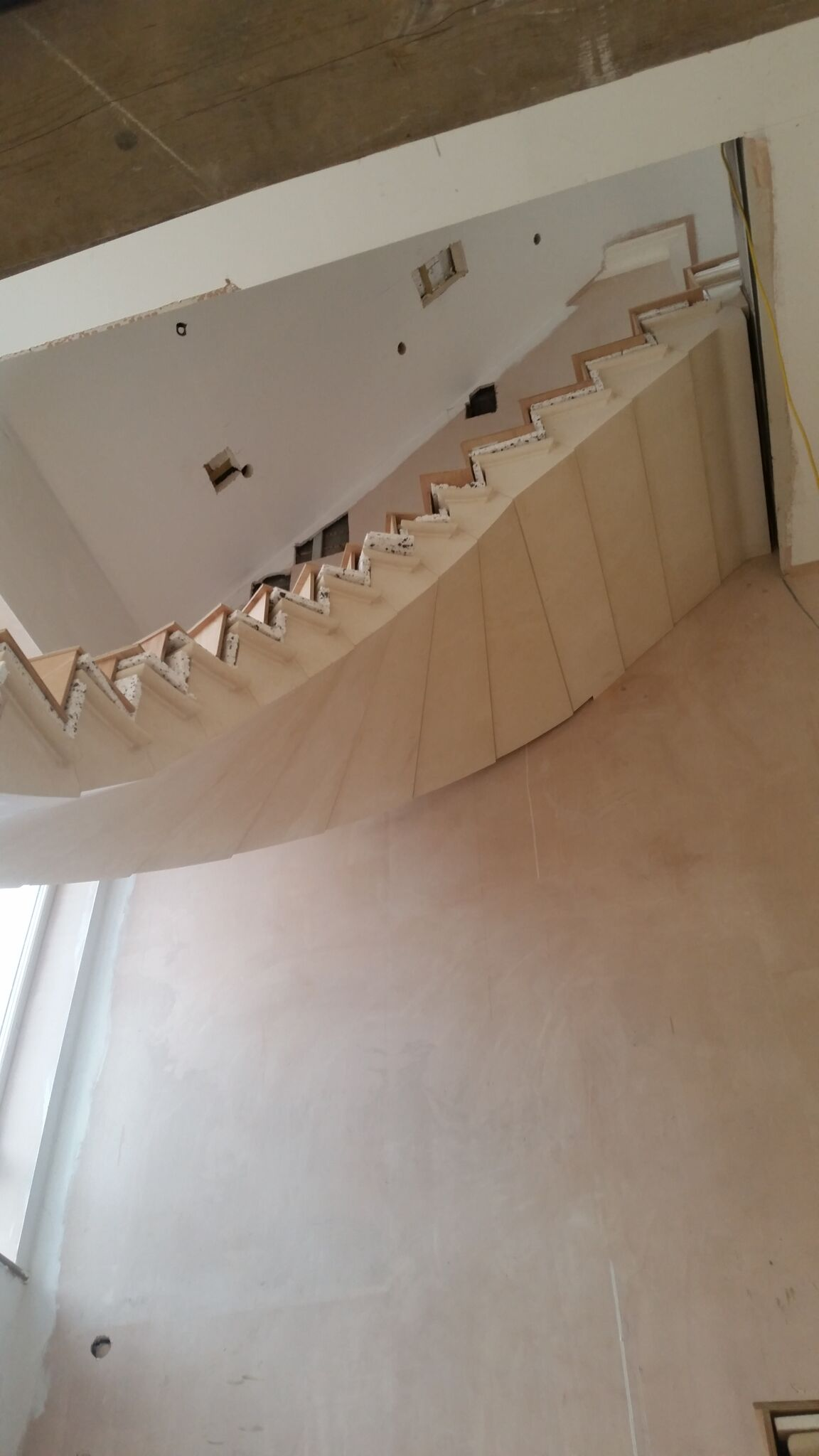 Underside of Spiral Staircase