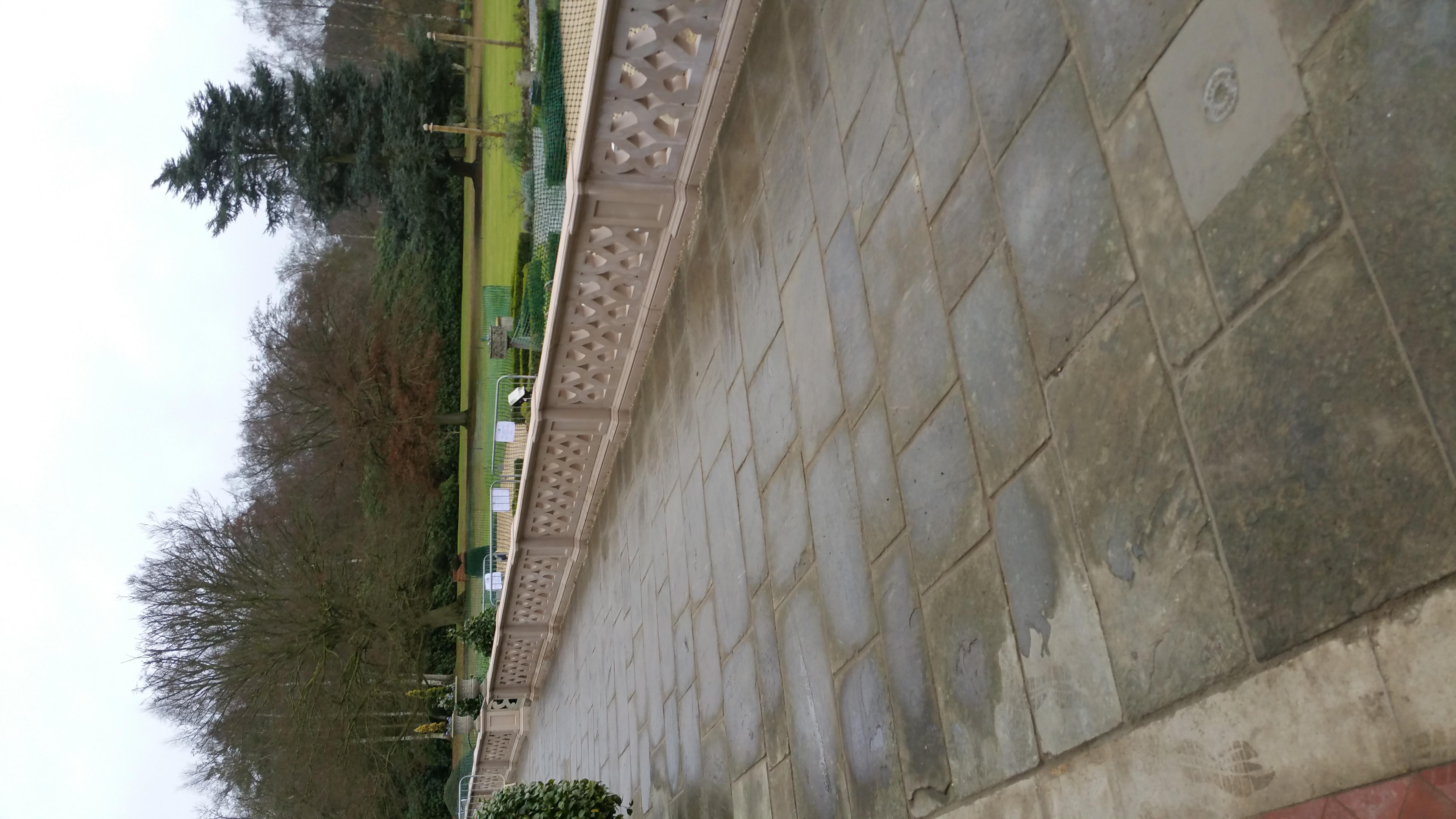 Reclaimed Paving Walkway