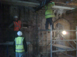 Works to Peckforton Castle