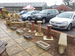 Benches, Bird Tables, and Troughs