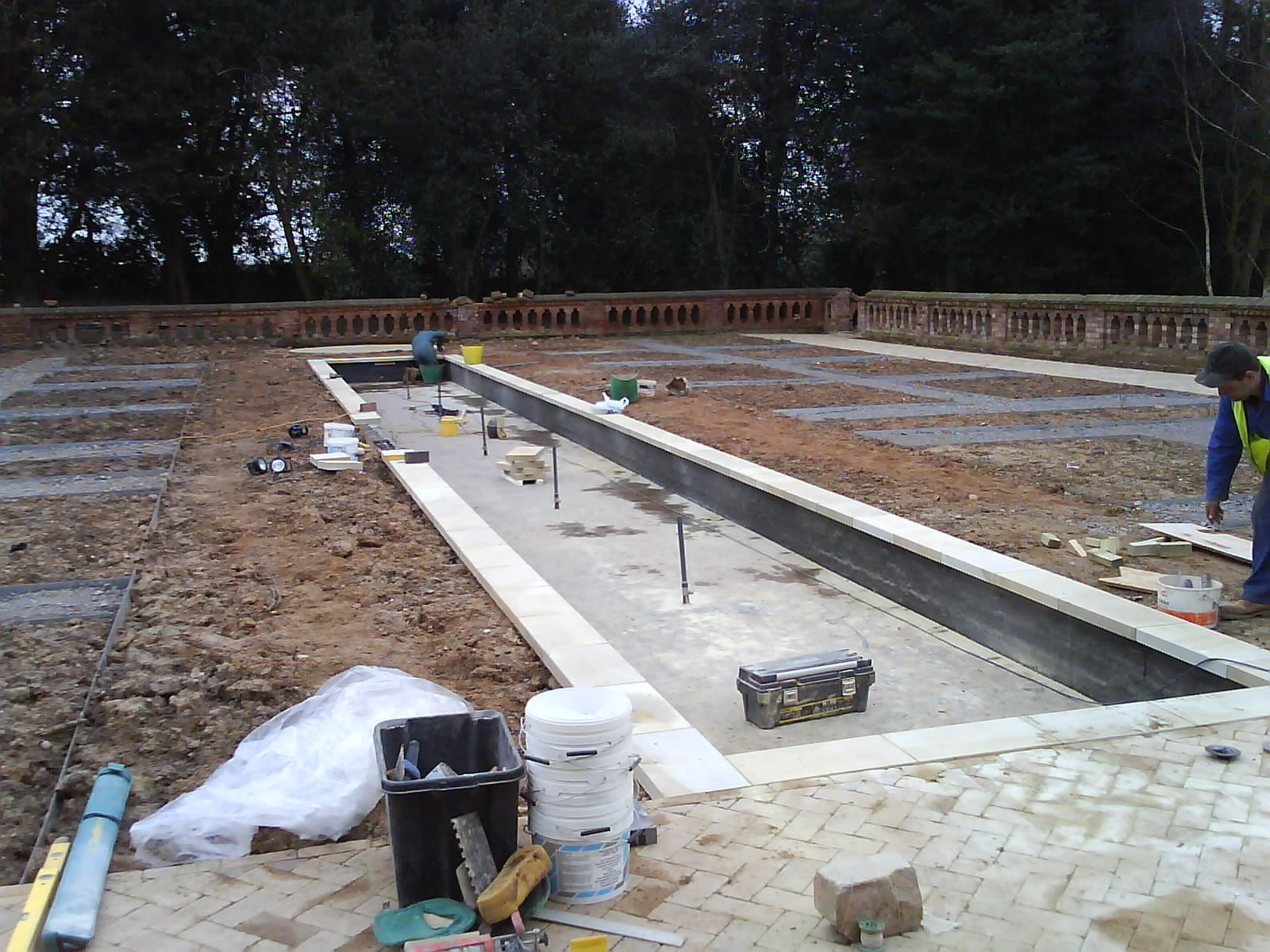 Construction of the Pond