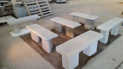 Hand Carved Garden Benches for Sale