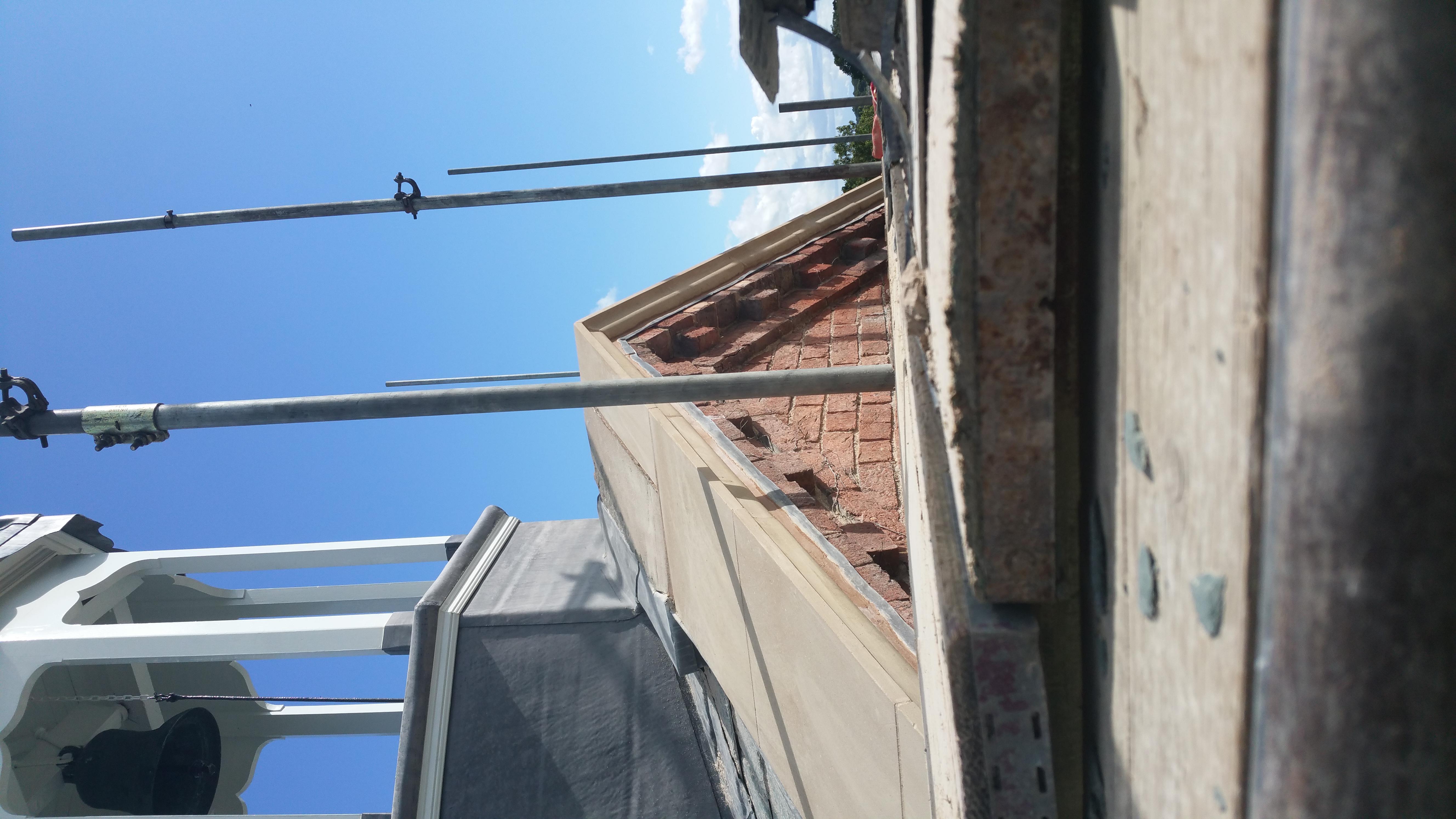 Gable Coping Church Repair