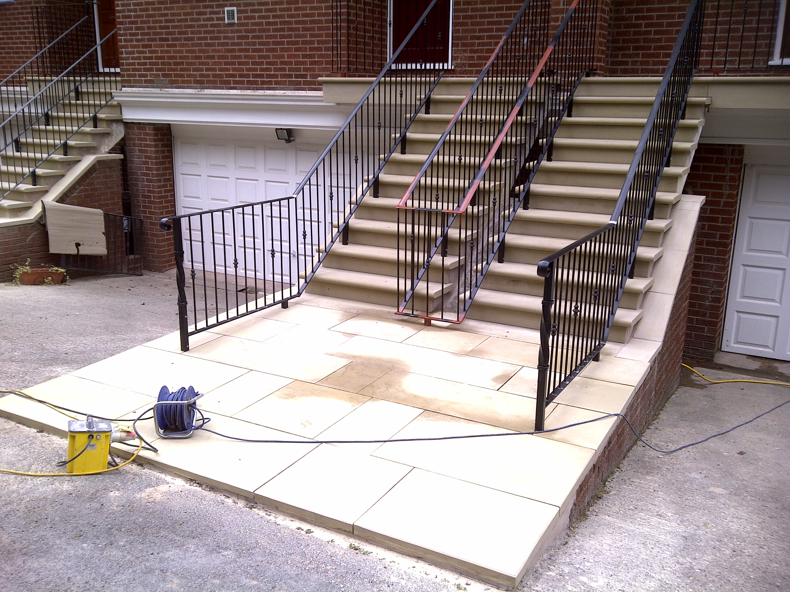 Yorkstone Steps and Paving