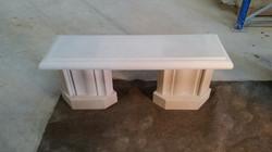Moulded Bench