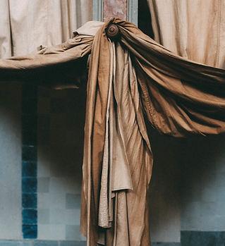 Brown Vorhänge