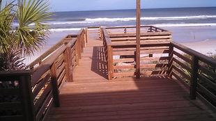 Decks, Wood, Railing, Engineered Lumber, Multi-level, built in seating, Picture Framed, Outside Shower, Pavilions, Pergolas