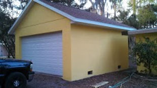 Garages, Sheds, Studios, Block Structure, Stucco, Doors, Windows, Volusia County