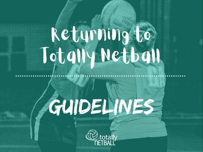 Guidelines for returning to totally netball