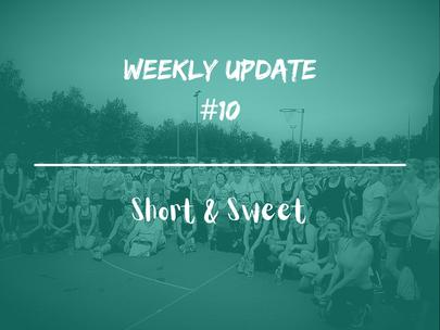 Week 10 - Weekly Update