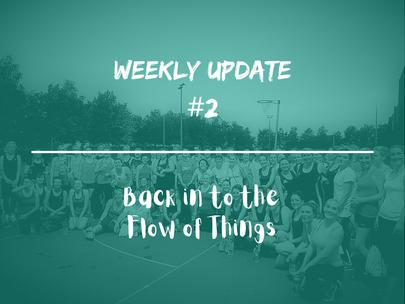Week 2 - Weekly Update