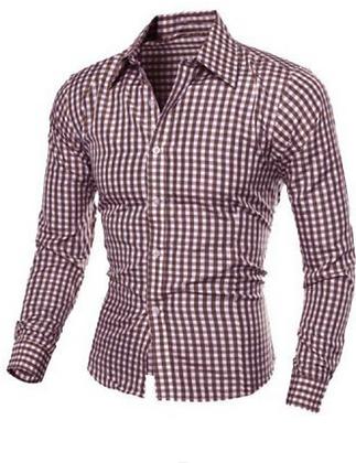 CHECK PATTERN DRESS SHIRTS
