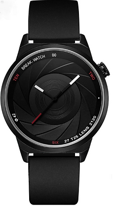PHOTOGRAPHER LENS SPORTS WATCH
