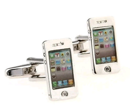 CELL PHONE CUFFLINKS